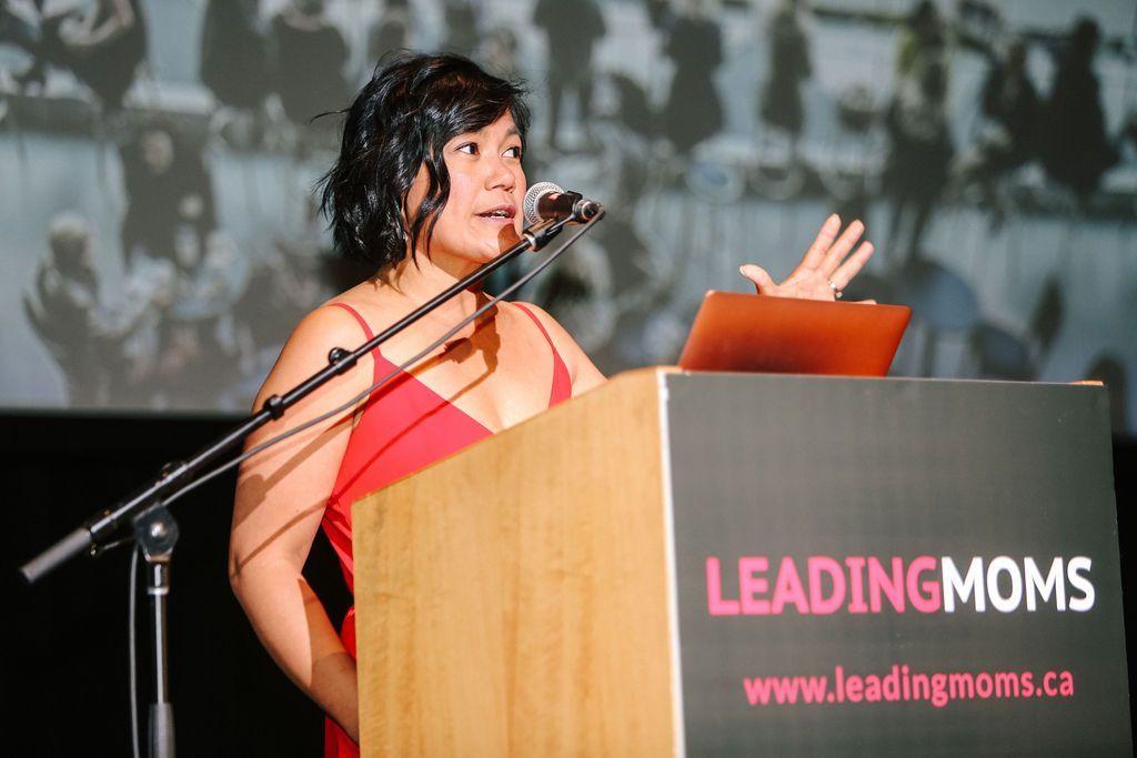 Christine Pilkington at Leading Moms