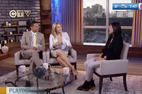 Christine on CTV Morning Live